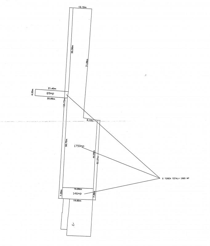 La 100m de bd. Pipera, dublu acces, P+2E; POT45%, pret 135/mp, comision 0%