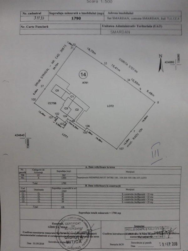 Casa moderna, 1800mp teren, 4 camere