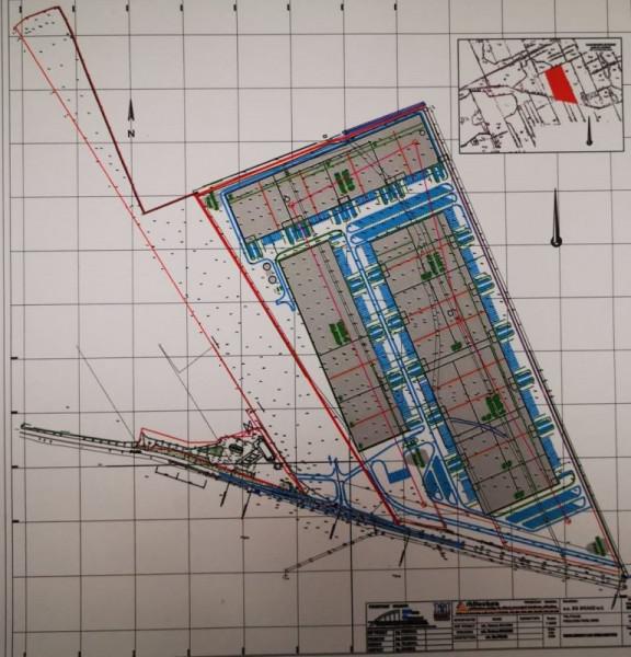 Teren pentru Proiect Parc Industrial- Arad E 68