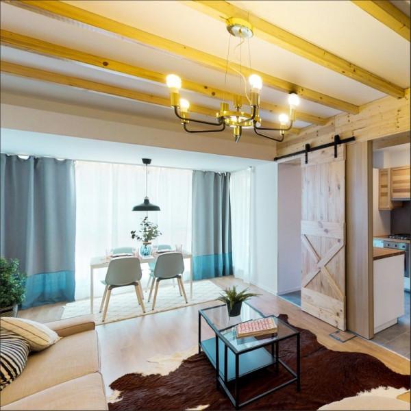 Apartament cu 3 camere tip 3D1 logie - Atria Urban Resort