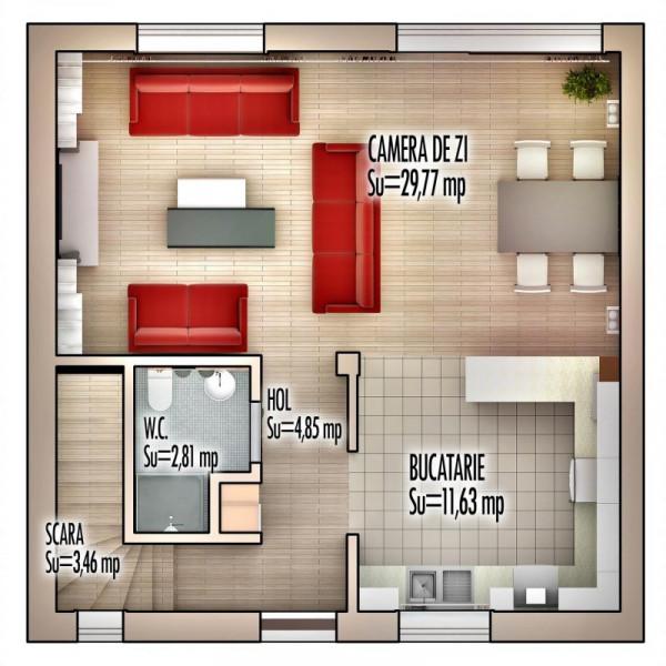 Ocazie unica! Case la pret de apartament in Pipera