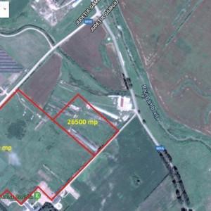 Teren ideal ferma agricola sau dezvoltare industriala